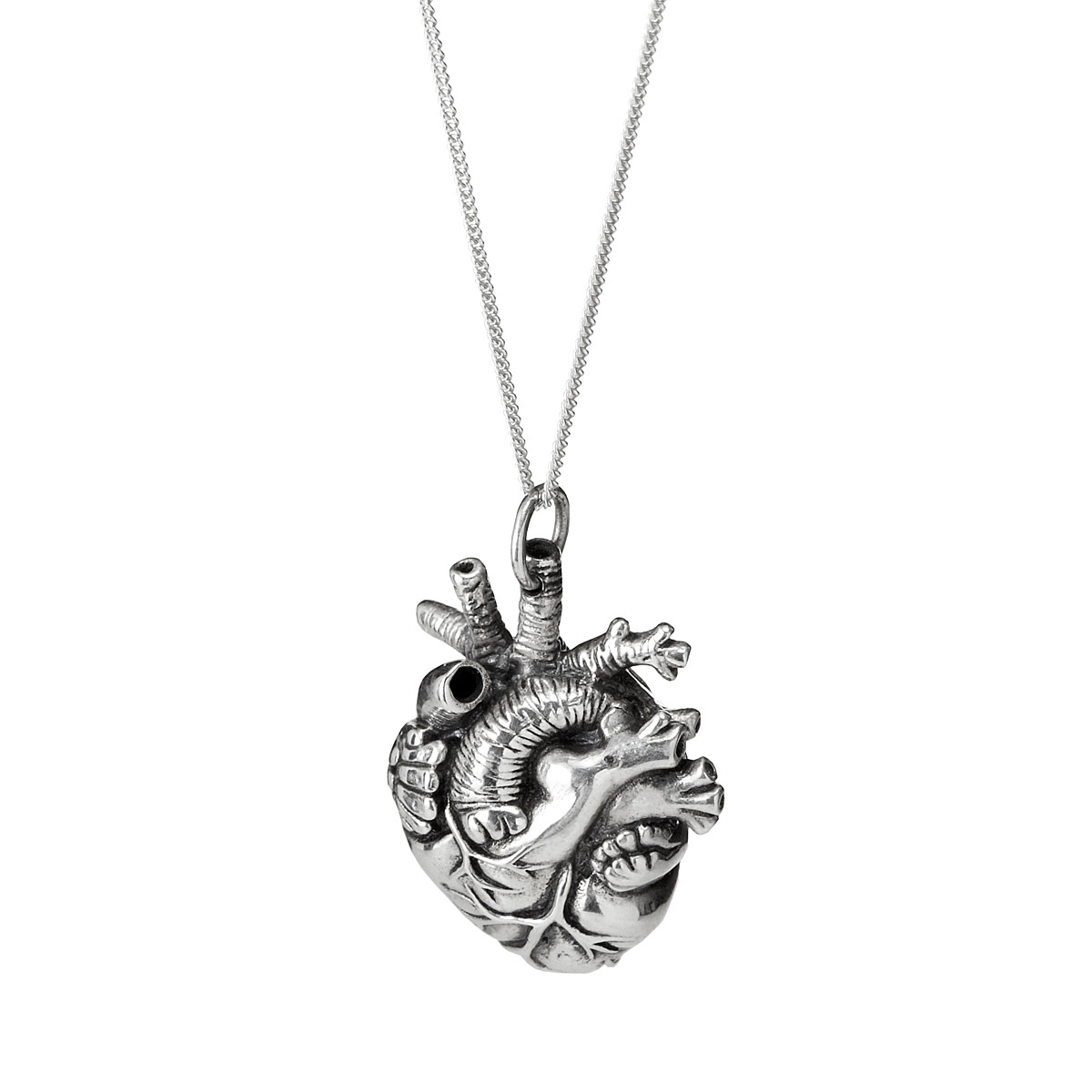 heart pendant necklace anatomical heart pendant 3 thumbnail lbjbxkx