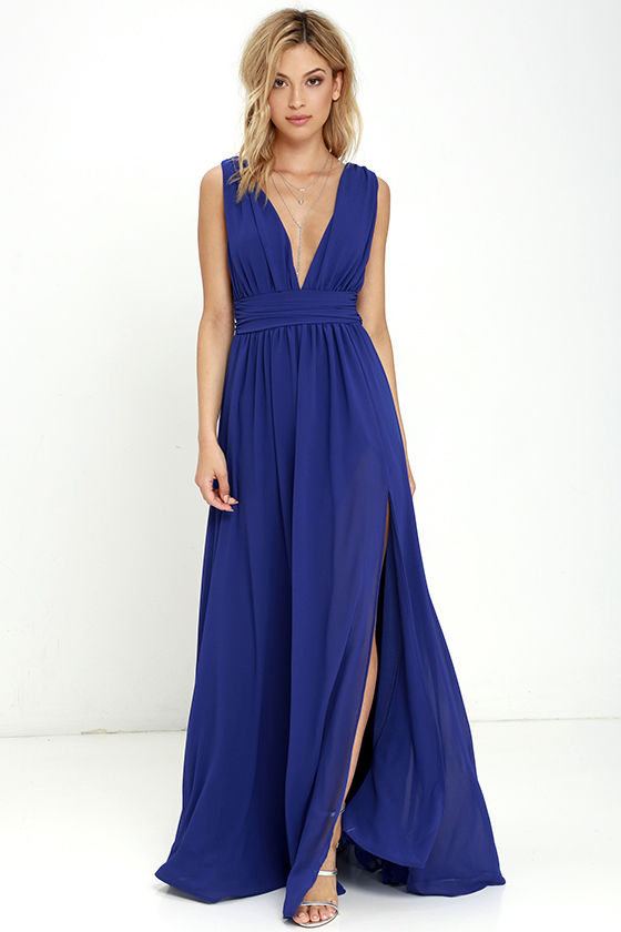 heavenly hues royal blue maxi dress 1 uzrwxvm