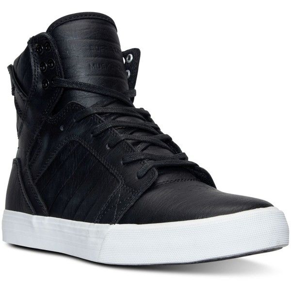high top shoes for men supra menu0027s skytop high-top casual sneakers from finish line (160 cad) ❤ ksyrcvu