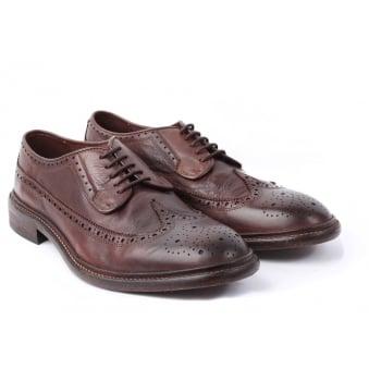 hudson shoes brown somme drum dye brogues gfktgdd