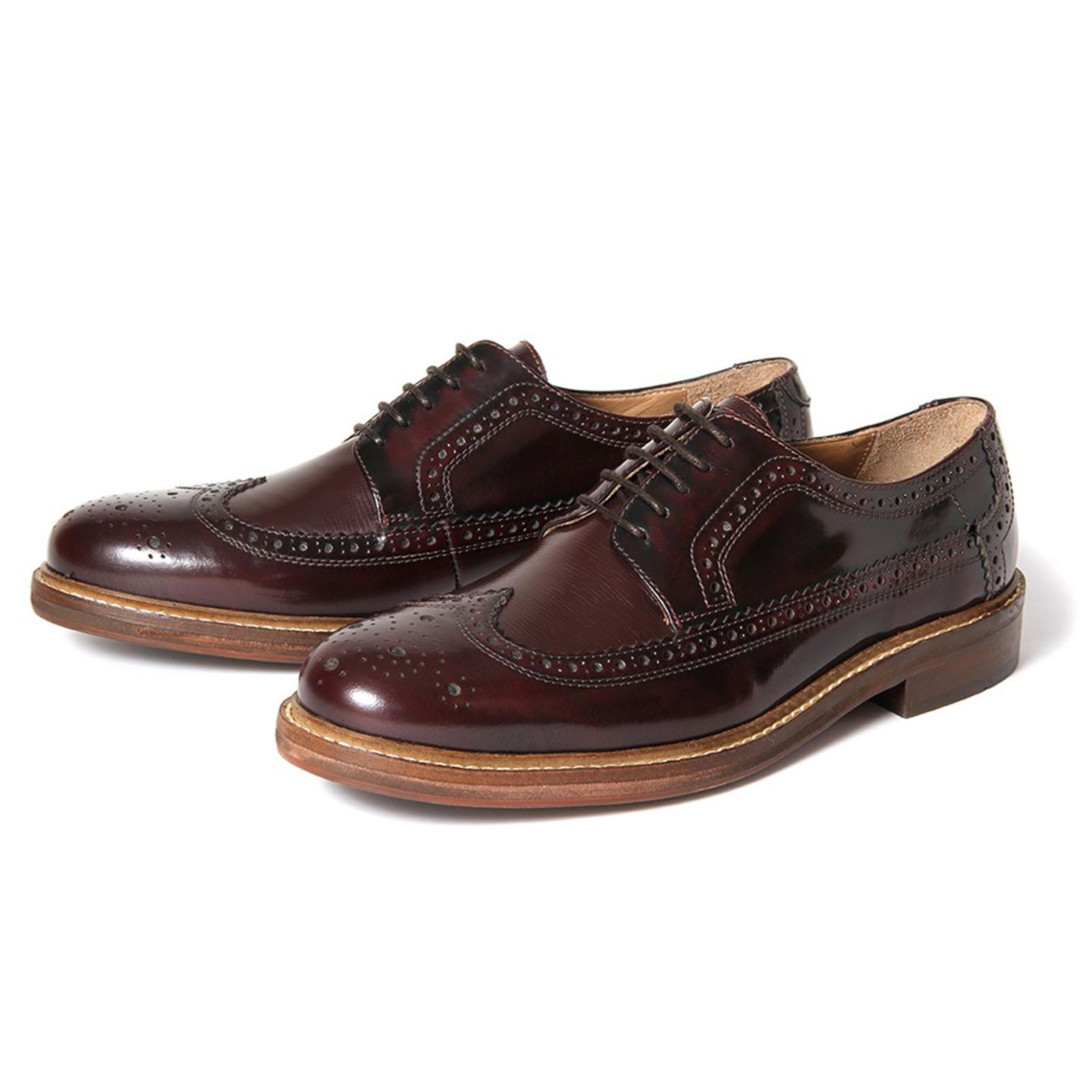 hudson shoes image is loading h-by-hudson-shoes-callaghan-hi-shine-bordo- aiafgwe