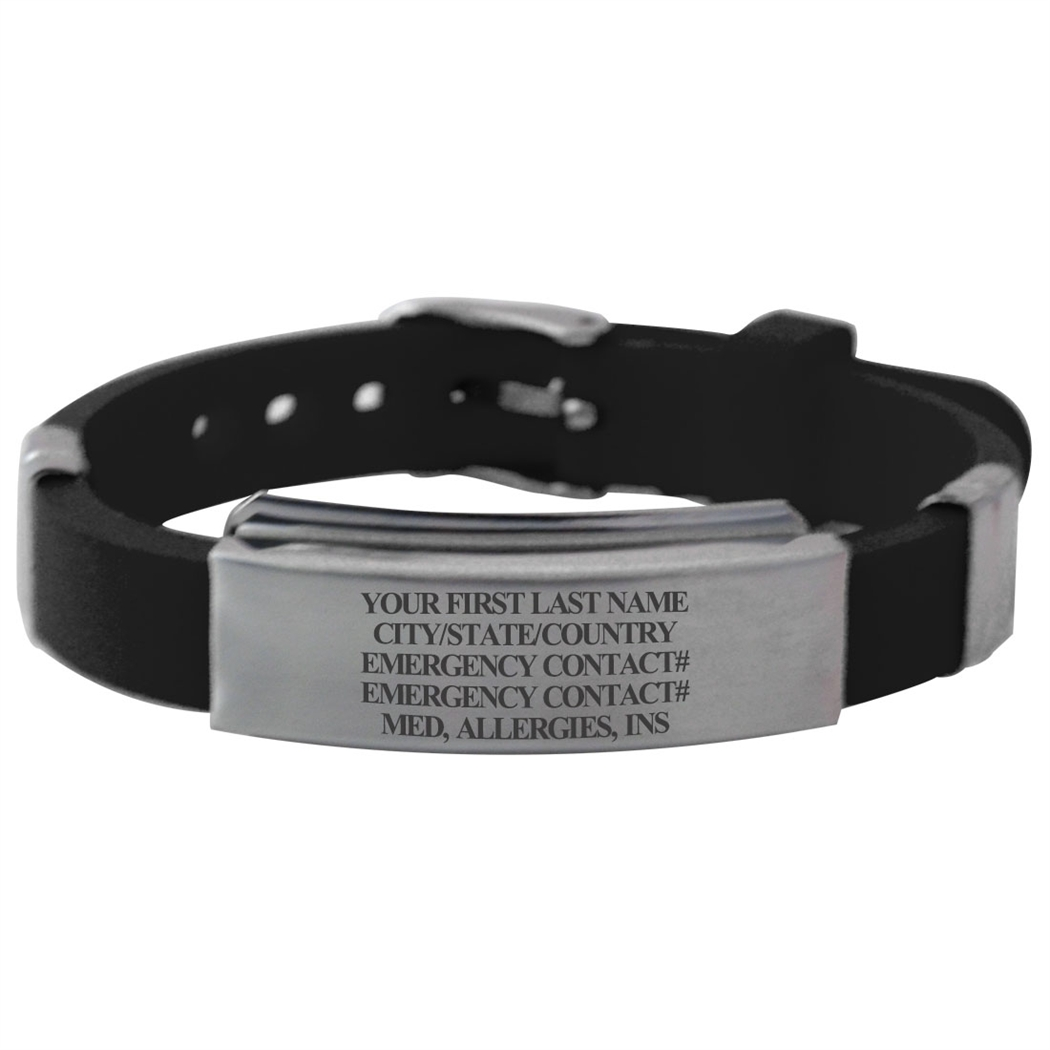 Take care with id bracelets