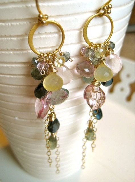 if i had you deluxe gemstone earrings sjciygk