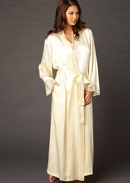 indulgence silk robe - luxury silk robe ghabhhw