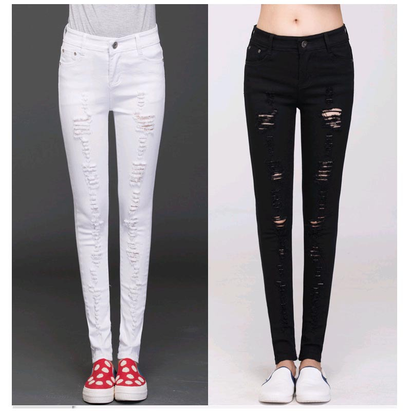 jeans for girls ripped jeans girl capris women sexy skinny jeans female denim capris low  waist girls mbnwllj