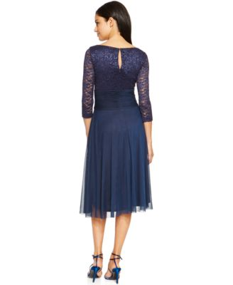jessica howard dresses jessica howard chiffon lace a-line dress leiztxo