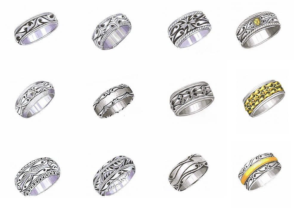 jewelry for men - jewelry for men. gothic rings, bracelets and cufflinks. yfqvbth