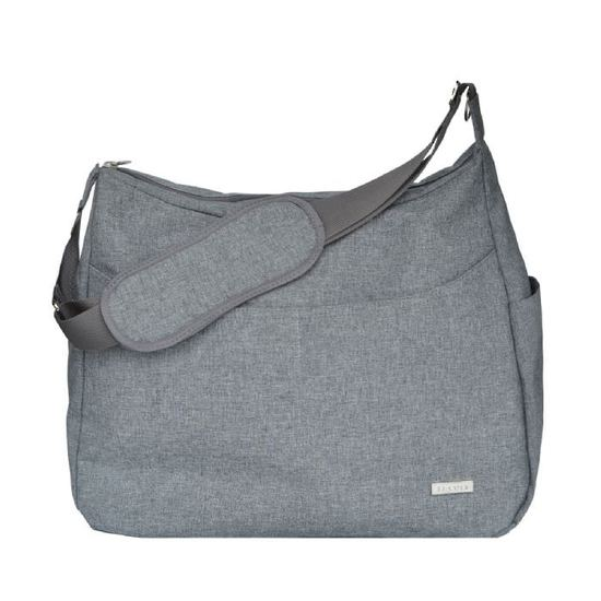 jj cole nappy bag - linden - grey heather xbnckph