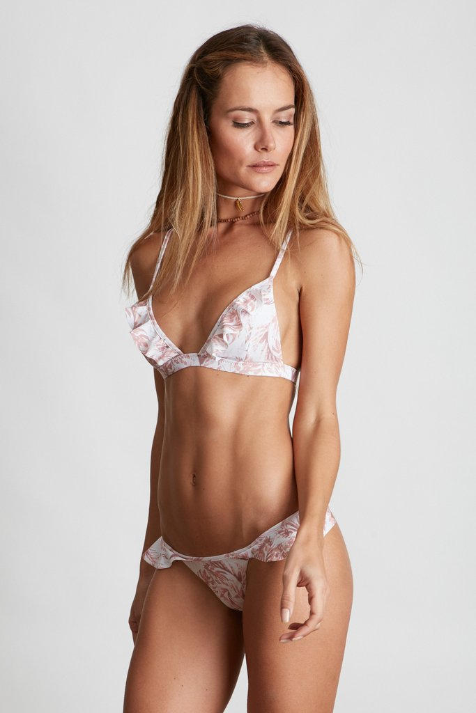 Enjoy Beach Outings with Ruffle Bikini