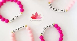 kids jewelry affirmation bracelet for children and fun adults!- pink beads combined with  positive word affirmations sisztnc