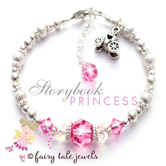 kids jewelry kids princess jewelry little girls princess bracelet gift for birthday girl  pink bracelet yhhtgco