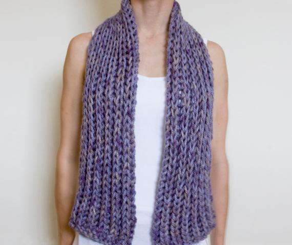 knit scarf simple super chunky scarf knitting pattern imqovsf