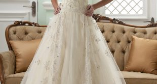 lace wedding dress a-line halter neck sleeveless floor-length court appliques lace wedding  dress aoforcl