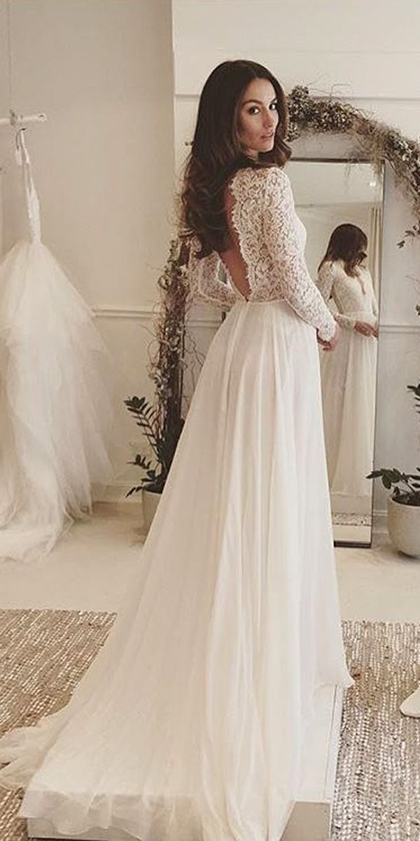 Lace Wedding Dress Bridal Inspiration: 27 Rustic Wedding Dresses Bunvsxv