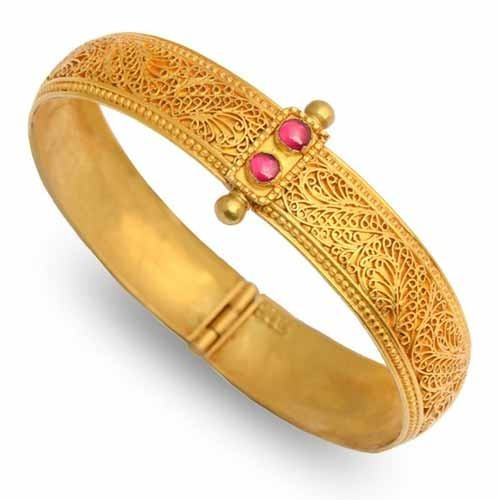 ladies bracelet - ladies stylish gold bracelet manufacturer from coimbatore jhhkgpp