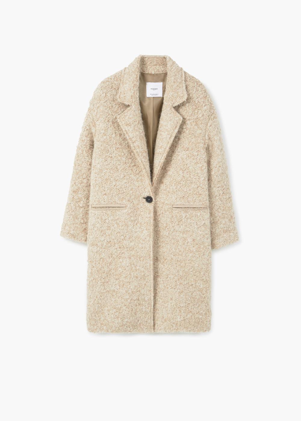 lapels wool coat | mango obyqoxb