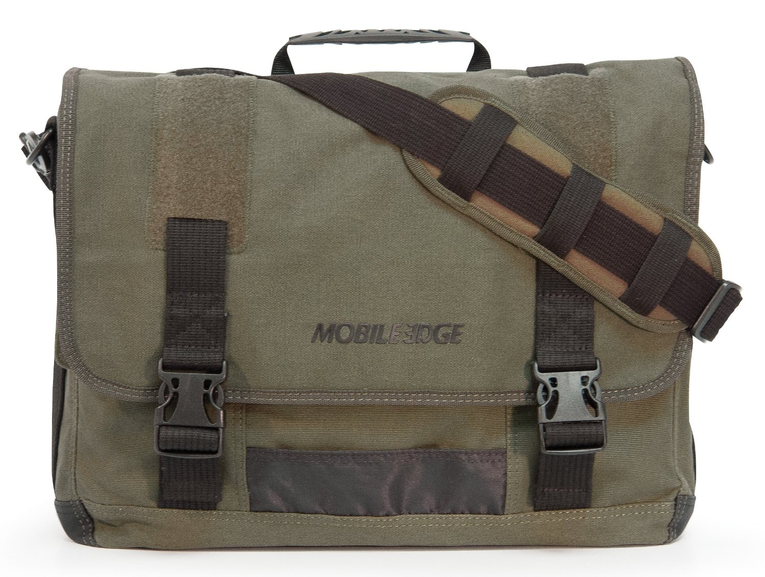 laptop messenger bags mobile edge eco laptop messenger (eco-friendly), 17.3-inch (green) cajrlvo