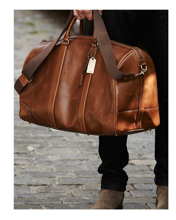 Factors to consider when getting leather bags for men
