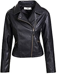 leather jackets women artfasion womenu0027s slim tailoring faux leather pu short jacket coat bywjhtf