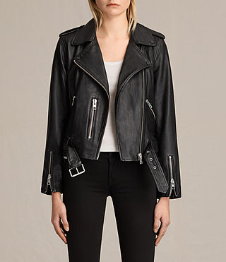 leather jackets women balfern leather biker jacket hmhkqsd