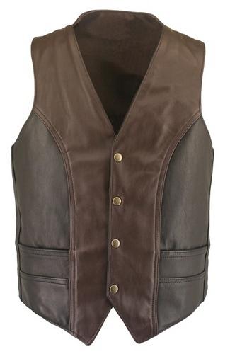 leather vest brown leather vests kezfwnp
