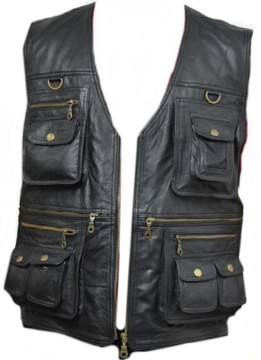 leather vest celebrita-italy-men-039-s-front-pocket-vest- hnhtoib