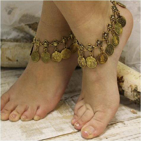 leg bracelet bella ankle bracelet - antique gold - catherine cole studio - ... plbuvpg