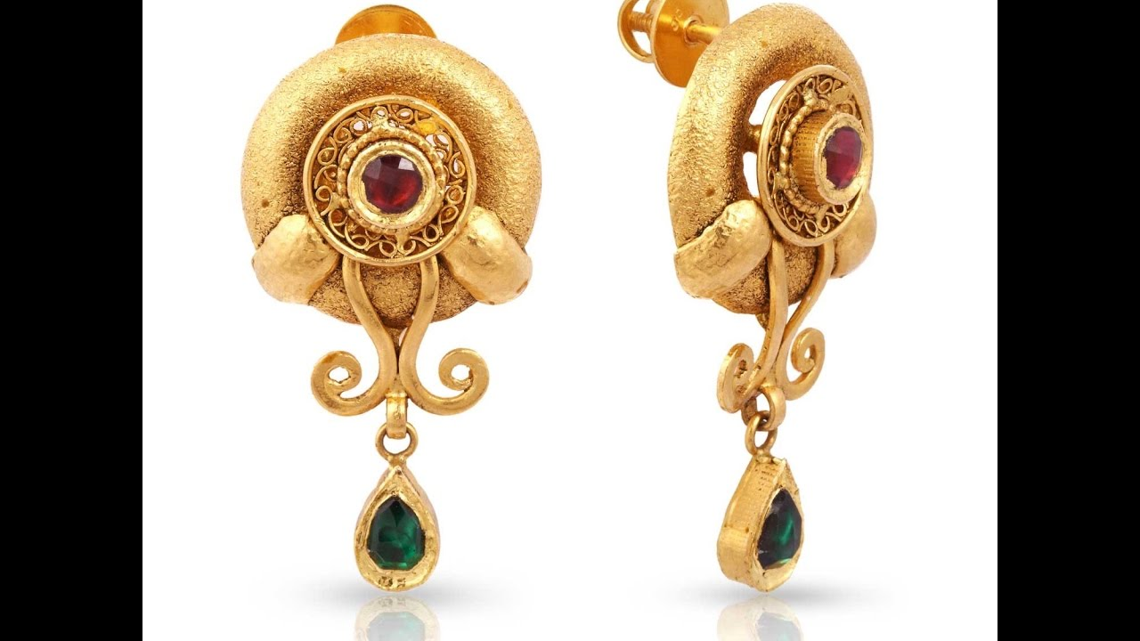 light weight earrings collection , latest gold earring designs cqntqfi