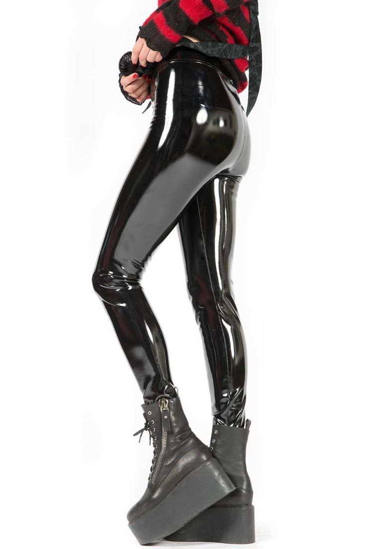 lip service 4-way stretch pvc leggings #ls-121 iosyxev
