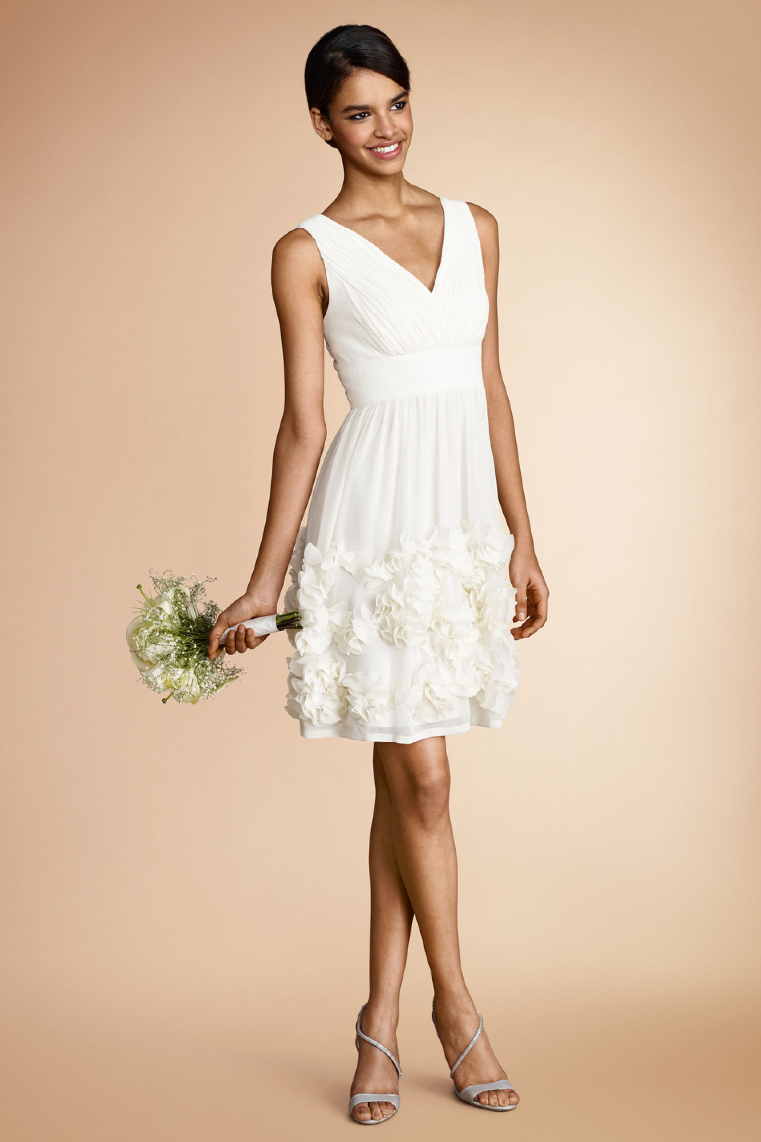 little white dress little white dresses for every wedding event | huffpost pqhckgc