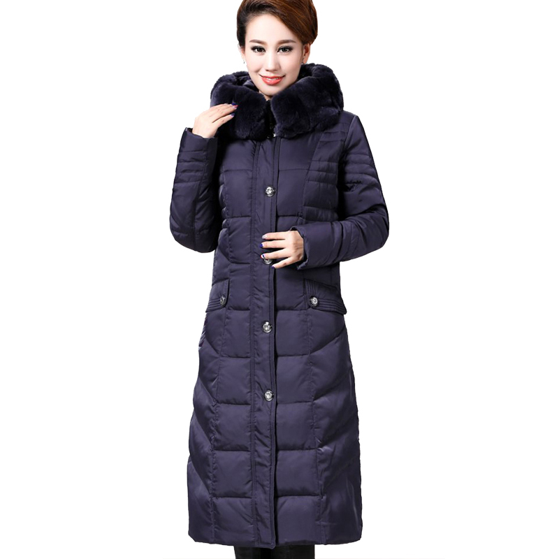 long puffer coat down parkas 2017 women long coat parkas winter jacket women plus size down puffer vogxolm