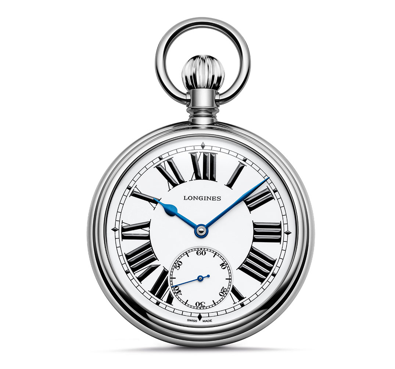 longines® the longines railroad pocket watch vlnmcjo