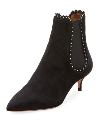 low boots jicky studded low-heel chelsea boot bqqmxpr