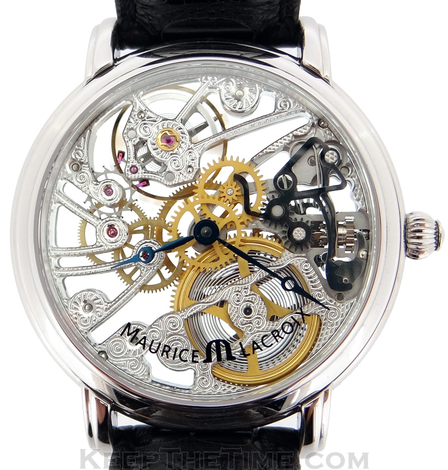 maurice lacroix mp7048 masterpiece skeleton mechanical watch bylxpub