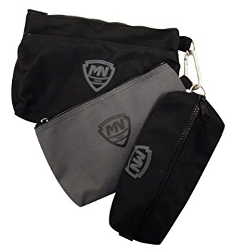 mcguire nicholas 31001 3 small bags, two black, one grey rbybqrj