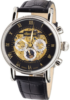 mechanical watch ingersoll in7911bk alaska skeleton automatic (in7911bk) jfebvkb