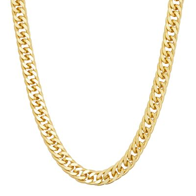 menu0027s 14k gold over silver curb chain necklace zuetpto