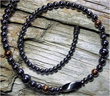 menu0027s 20 black u0026 copper all magnetic necklace ... qvioega