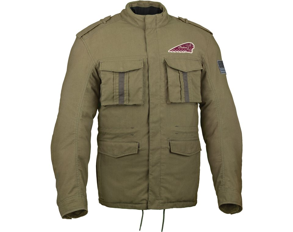 menu0027s military jacket | indian motorcycle azwpval