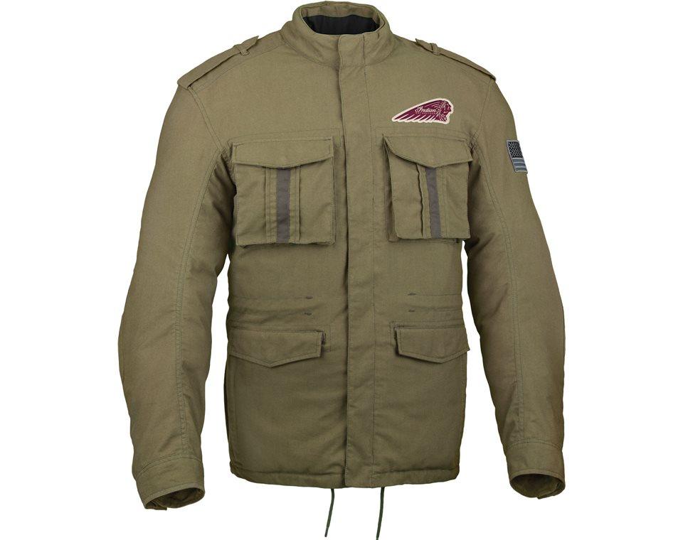 menu0027s military jacket | indian motorcycle azwpval