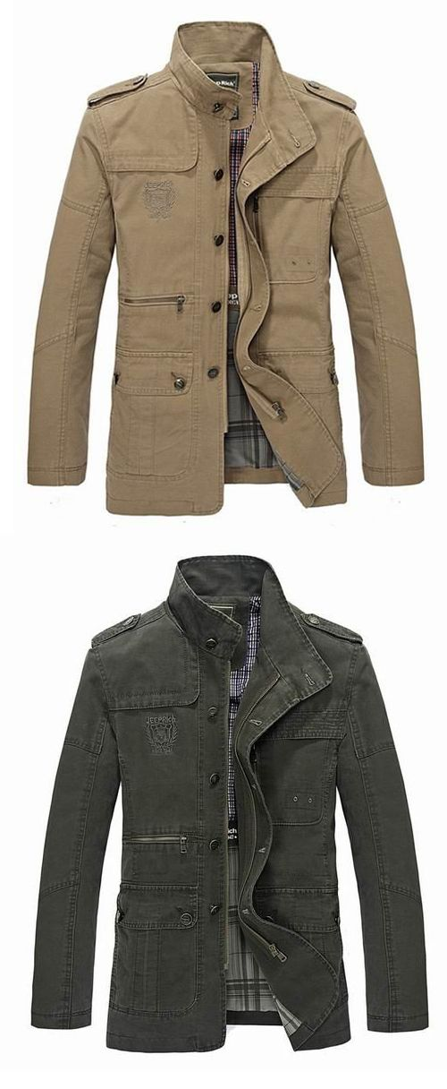 mens coat menu0027s spring casual business washed lapel cotton blend jacket coat phhrsbz
