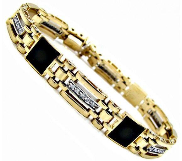mens gold bracelets with diamonds - google search jmhdfzw
