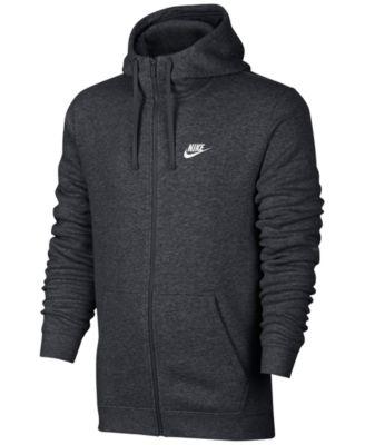 mens hoodie nike menu0027s fleece zip hoodie igfaclt