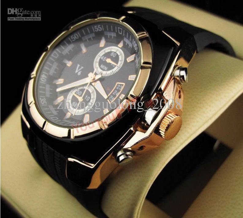mens luxury watches automatic luxury watches modern menu0027s fashion round watch v6 orange dials  quart orxitbo