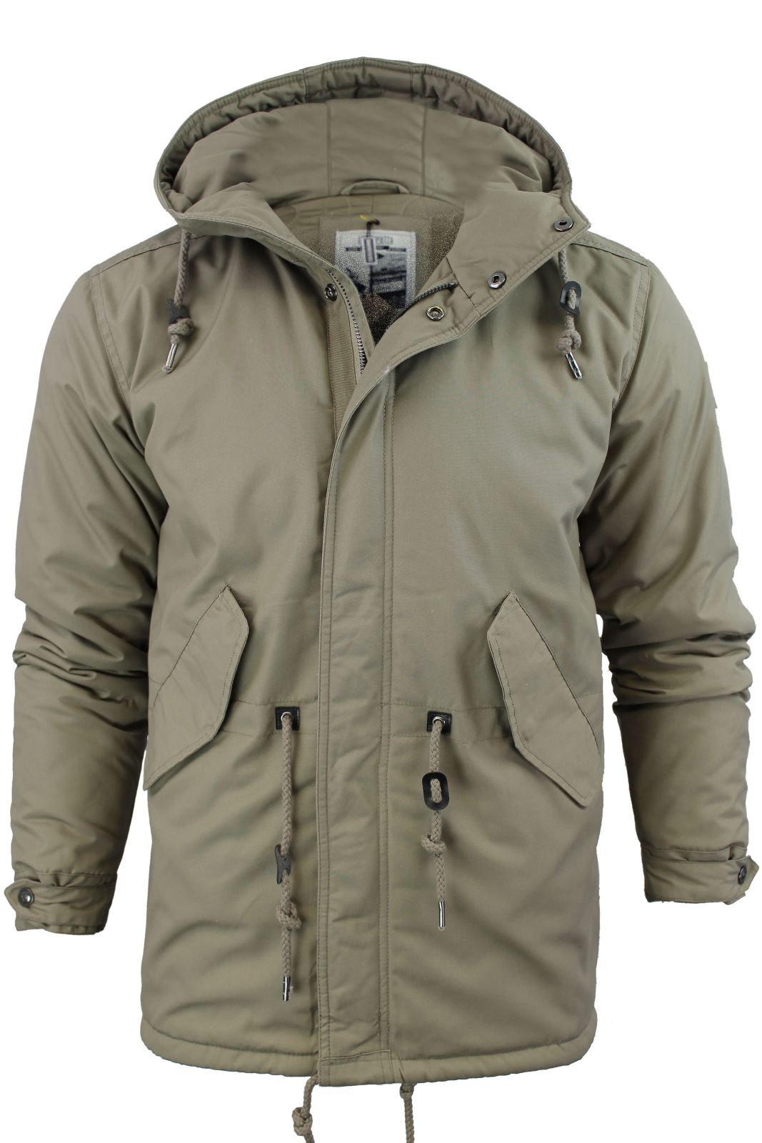 mens parka coats mens lambretta mod/ retro quilted fish tail parka jacket/ coat hooded arscfba