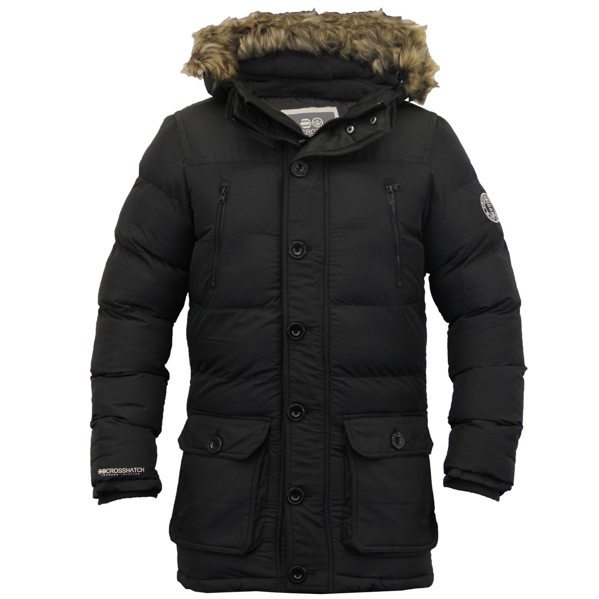 need for men s parka coats styleskier #0: mens parka coats mens parka jacket crosshatch coat hooded padded quilted vehvrwq