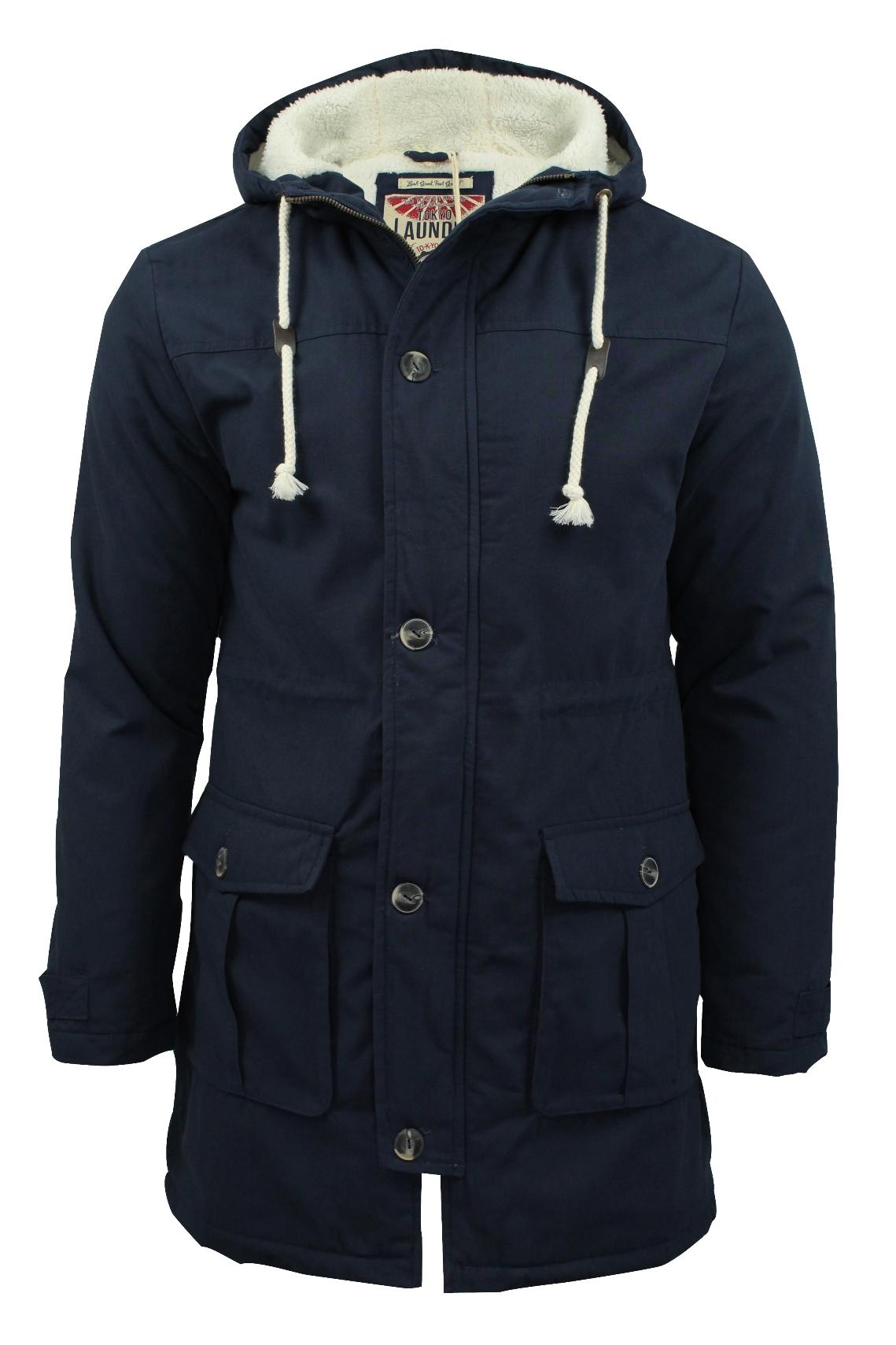 mens parka coats mens-parka-jacket-tokyo-laundry-039-braxton-039- fzngmdh