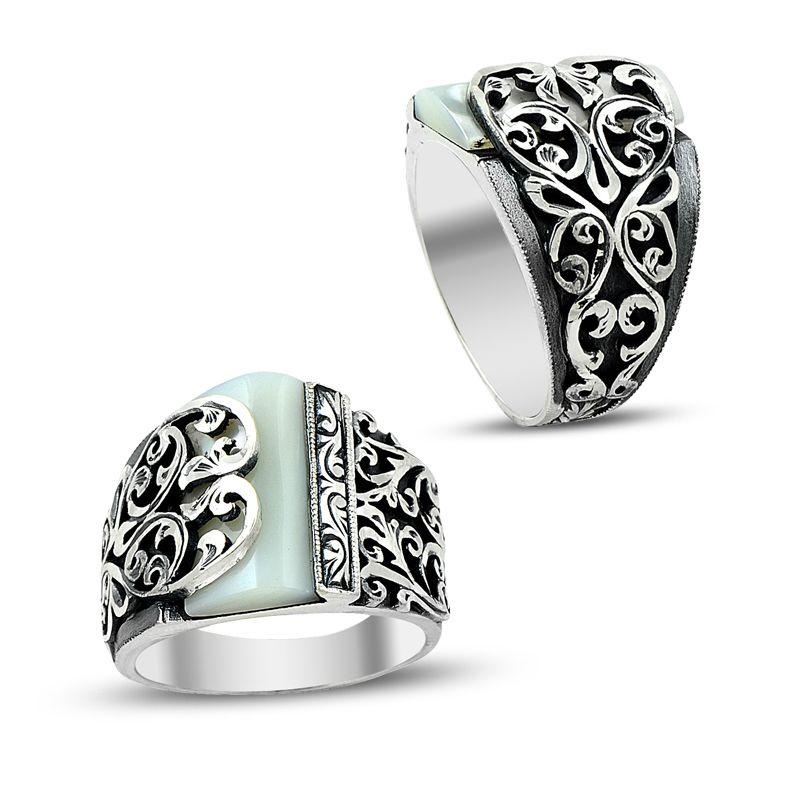 mens silver rings euudcsn