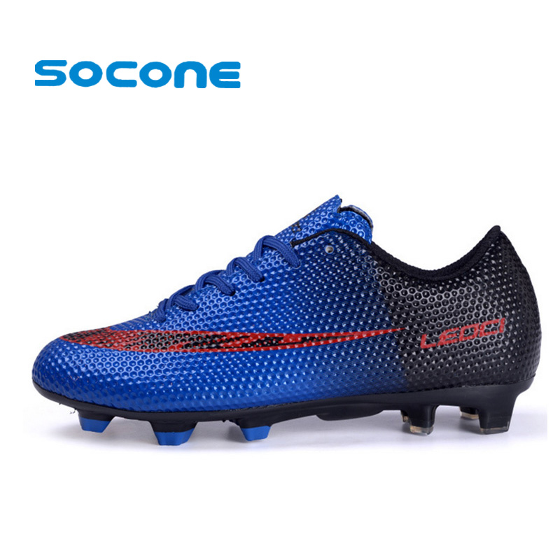 mens soccer shoes 2017 sport football shoes for man boys outdoor long  spikes fg nrcylrb
