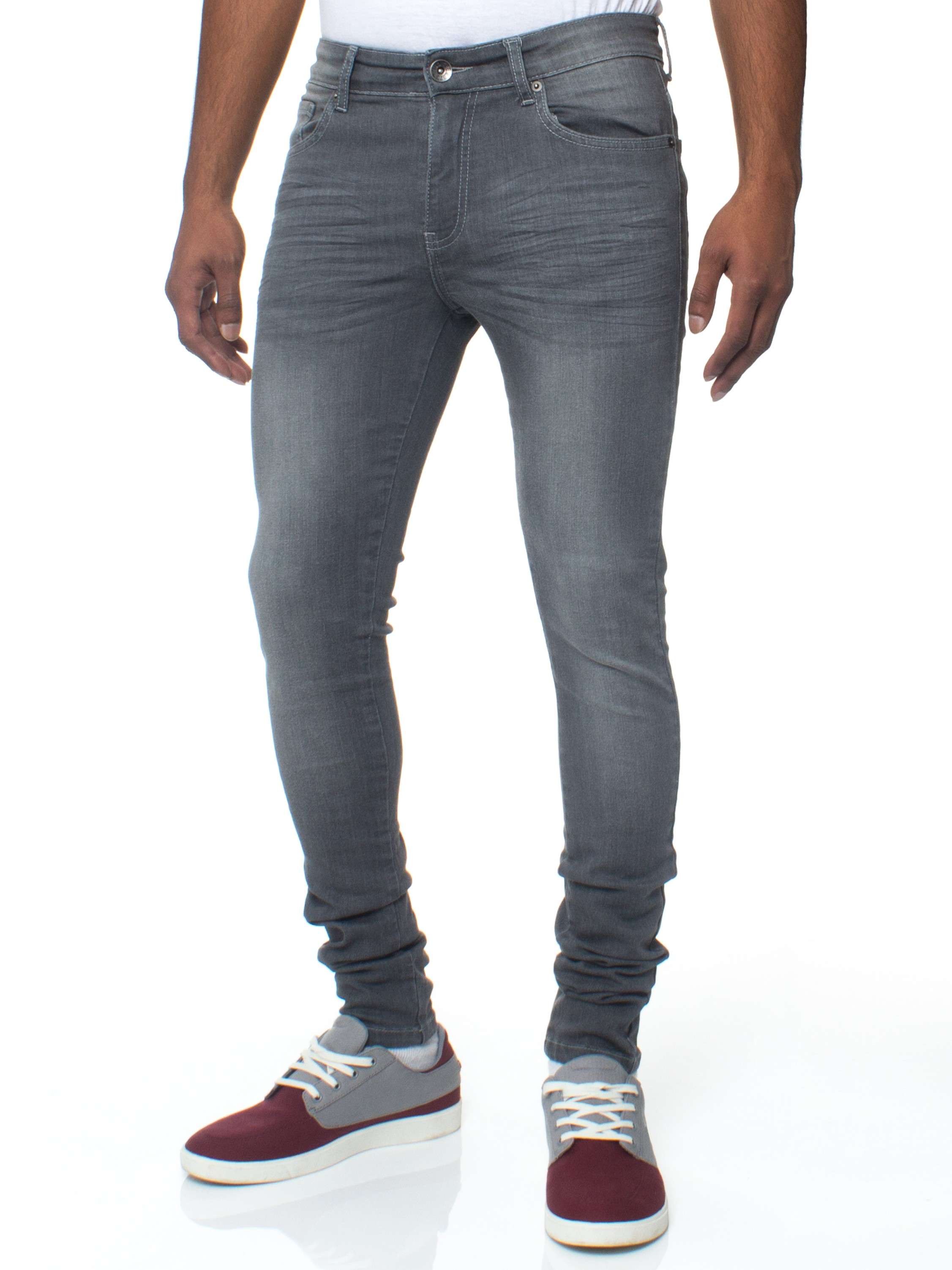 mens stretch jeans mens skinny slim fit stretch grey jeans rjfunko